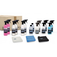 Quick&Bright shop products, test package 500/750ml bottles