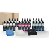 Quick&Bright shop products, test package 200ml bottles