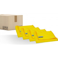 Microfibre cloth QUICK&BRIGHT, yellow, 40 x 40cm, PU = 200 pieces