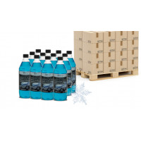Special Offer (palette): Quick&Bright WINDOW-CLEAN, Window Cleaner Winter, 45 carton (á 12 x 1 l)