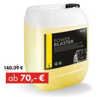 Sale: POWER BLASTER, High-foam shampoo with extra-rapid drip-off effect, 25 kg